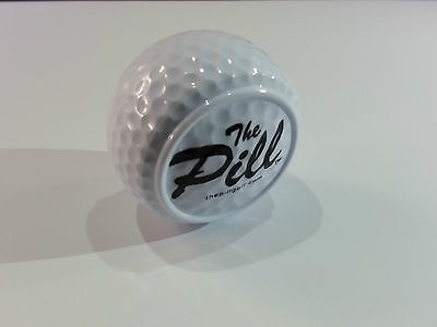 The Pill Golf putting training aid ball for putting and chipping