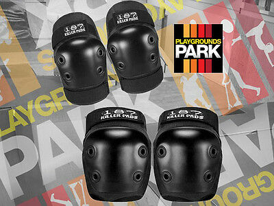 Combo Pack 187 Killer Pads ( Knee and Elbow )