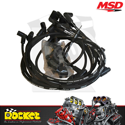 MSD Street Fire Ignition Leads (Small Block Chev 350 HEI) - MSD5554