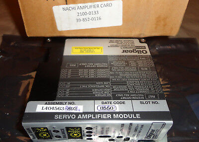 Oilgear L404563-802 Servo Amplifier Module L404563802 New