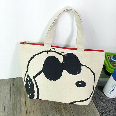Japan Brand New Snoopy Peanuts lovely small tote Pink FREE SHIPPING