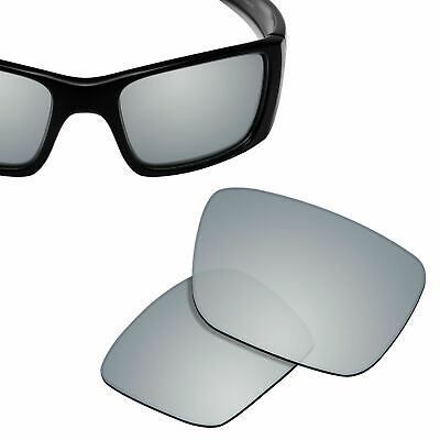 Polarized Replacement Lenses for-OAKLEY Fuel Cell Sunglasses Silver Titanium