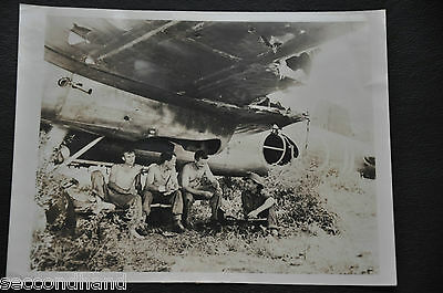 Original Photography By Robert Capa   , War Ii  Military  N.7 , Original