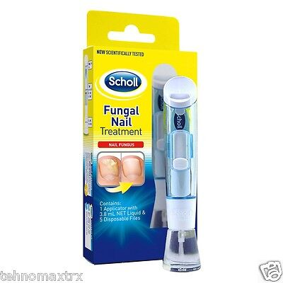 SCHOLL NAIL FUNGAL TREATMENT 3.8ml Kill Fungus 99.9% GENUINE PRODUCT -  04.2018