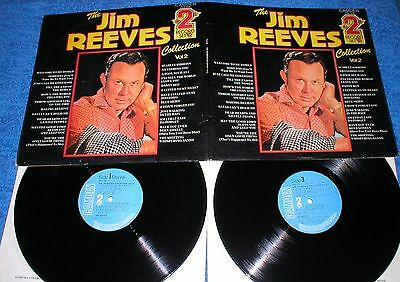 JIM REEVES UK LP x2 DOBLE LP THE JIM REEVES COLLECTION 2 Recopilatorio Exitos