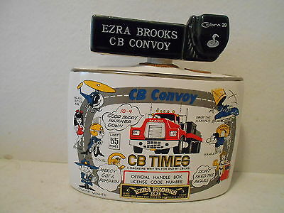 Ezra Brooks CB Convoy Cobra 29 Decanter - Heritage China 1976 - R.H. - 63