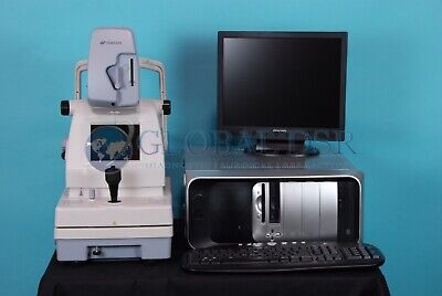 Topcon NW100 Non Mydriatic Fundus Camera NM w/ Lombart Digital Video System