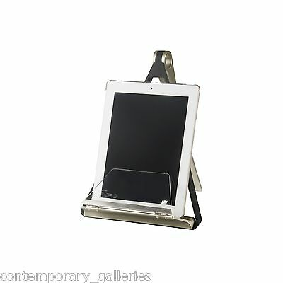 Contemporary Tablet Book Prop Collapsible Pelica Cook Book Holder Splash Guard