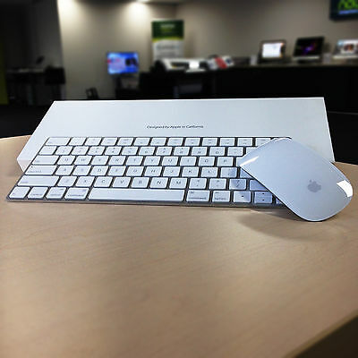 New Apple Magic Mouse 2 + Apple Magic Keyboard Set w/ Cable - Wireless Bluetooth