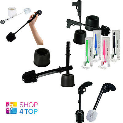 Toilet Brush Holster Cleaning Wc Bath Bathroom Funny Novelty Gifts New
