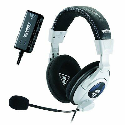 PS4 Turtle Beach Headset Ear Force Call Of Duty Ghosts Shadow Stereo XBOX 360 PC
