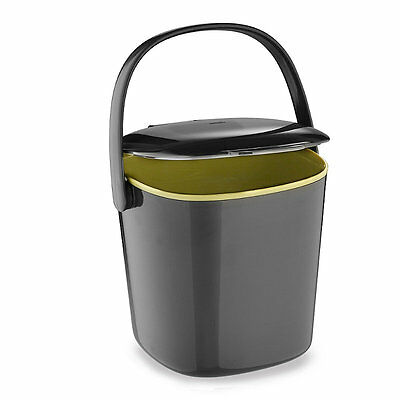 OXO Good Grips® Grey Neat Compost Bin For Kitchen waste (2.8 Litre)