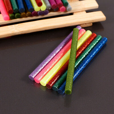 30PCS Glitter 7MMx100MM Glue Sticks Hot Melt Gun General Purpose Craft Adhesive
