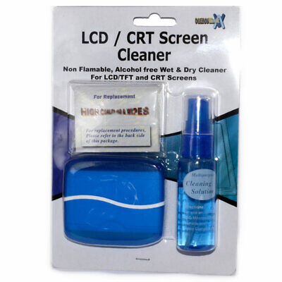 NEWLINK LCD/CRT Screen Cleaner Fluid Wet Wipe and Cloth [002027]
