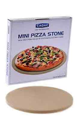 CADAC Mini Pizza Stone 25cm For Gas/Charcoal/Electric Ovens 6544100