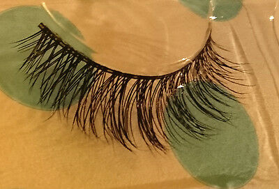 100% Real Mink Eye Lashes Flutter Thick Long Cross Extension SALE Hand Lilly MV