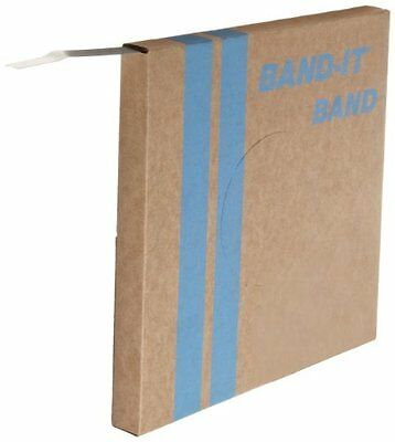 """BAND-IT VALU-STRAP Band C13599, 200/300 Stainless Steel, 5/8"""" wide x 0.015"""" 100"""