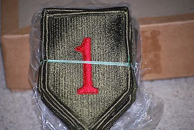 1st Infantry Division Patch - Color - Pack of 20