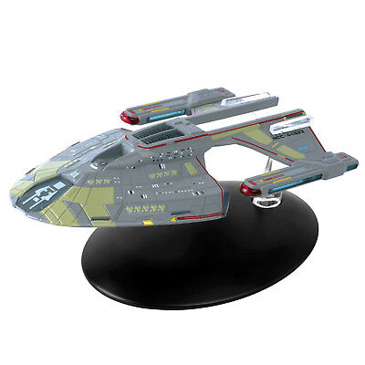 Star Trek Norway Class (USS Budapest) Model with Magazine #61 by Eaglemoss