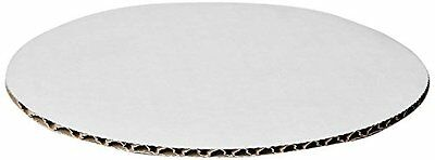 W PACKAGING WPCC08 Round Cake Pad, C-Flute, Non Grease Proof, Corrugated Paper