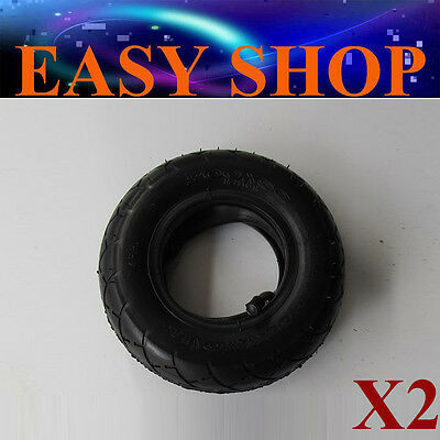 2 x Tyre & Inner Tube Set 200 x 50 Tire Razor Electric Scooter Kart Buggy Bike