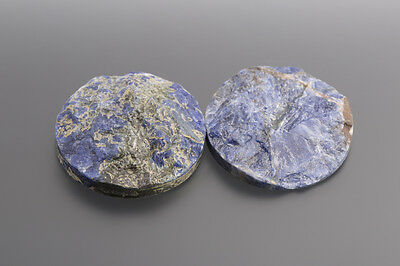 Sodalite Cabochon knock-out Tondo 32 mm / SCATOLA