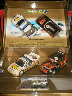 Pack 2 Coches Rally Clasicos Superslot 1/32