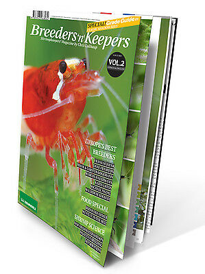 Breeders and Keepers Vol. 2 - Shrimp Magazine / Book