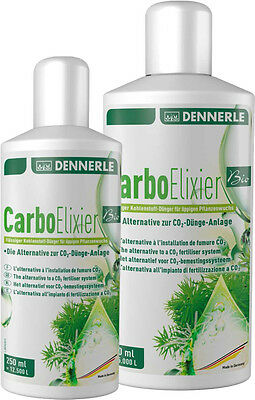 Dennerle Carbo Elixir Liquid Carbon - Easy Alternative to CO2 - Fertilizer 250ml