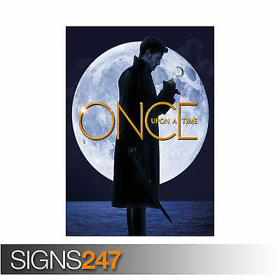 ONCE UPON A TIME CAPTAIN HOOK KILLIAN JONES COLIN O'DONOGHUE (1236) Poster