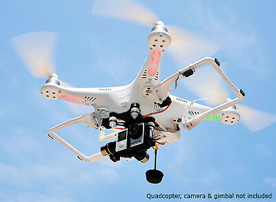 HML350 V2.0 Retractable Landing Gear for DJI Phantom Quadcopter and Better View