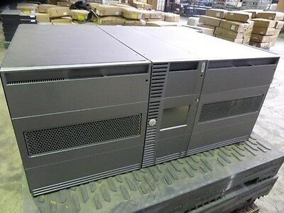 Dell PowerVault ML6030 Modular Tape Library 3 x LTO3 FC Drives 23U 225 TAPES