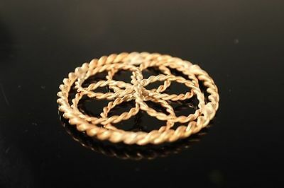 Seed of Life 1/4 & 1/8 Sacred Cubit Tensor Ring Pendant 144 MHZ