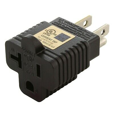 Household Electrical Adapter NEMA 5-20R to NEMA 5-15P by AC WORKS™