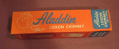 Vintage Aladdin Loxon Chimney PART No P979907 with Box