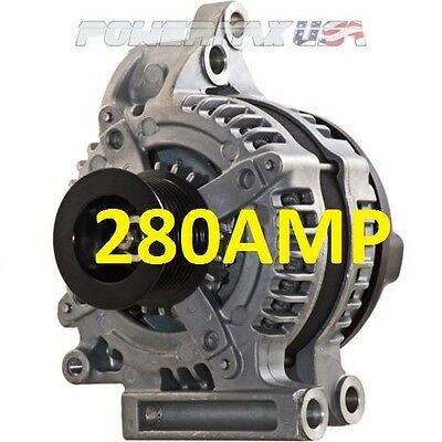 New High Output 280Amp Alternator For 07-15 Toyota Tundra Sequoia 5.7L 4.6L