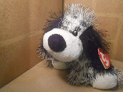 TY Punkies - POLKA-DOT the Dog (8.5 inch) - WITH TAGS