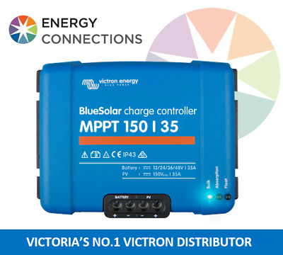 Victron MPPT Solar Charge Controller 150/35A Bluesolar 12 24 36 48 volt