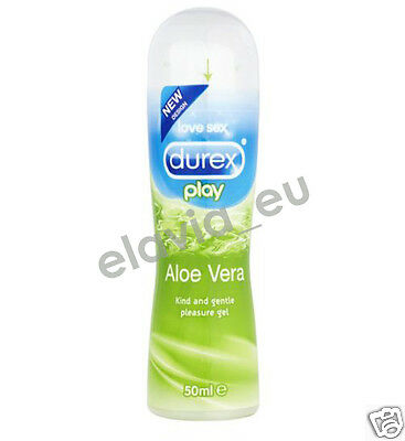 Durex Play Aloe Vera Pflegend Gleitgel 50 ml Erotik Sex Gel 13,98/100 ml