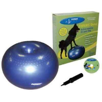 New! FitPAWS Donut Large Dark Blue for Dog Fitness and Agility
