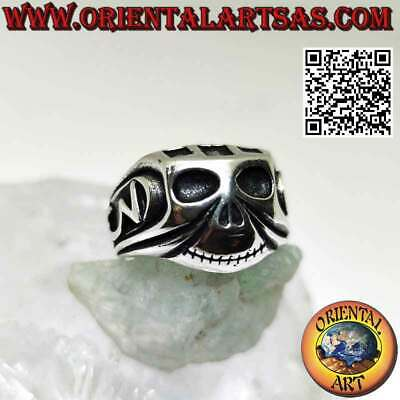 Anello teschio Johnny Depp in Argento 925