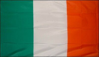3'x5' NYLON Ireland Flag for St. Patrick's Day Premium Irish 3 feet by 5 feet