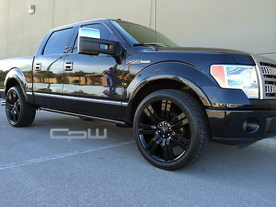 "24"" Wheels Tires fit Ford F150 Expedition Navigator FX4 Limited Platinum Black"