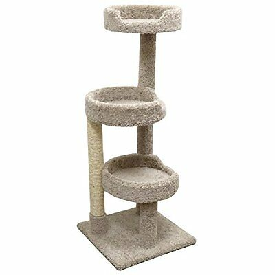 Cat Condos Premier Kitty Pad Cat Tree, Beige