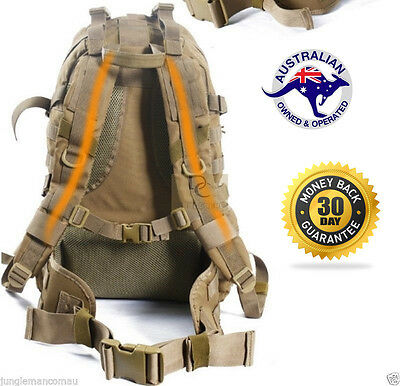 40L Military Tactical Backpack Waterproof Molle Swat Camping Hiking Army QUALITY