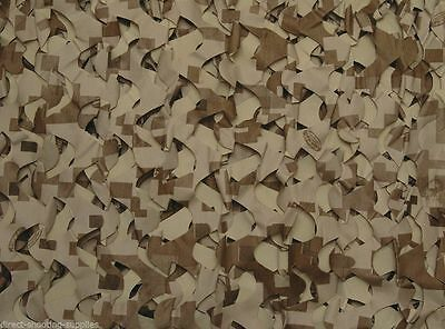CamoSystems 3-D Digital Leafy Camo Sand Stubble Waterfowling Hide Blind Net