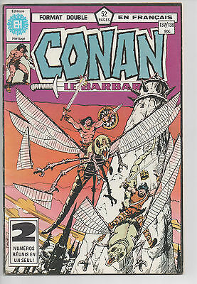 CONAN #137/138 french comic français EDITIONS HERITAGE