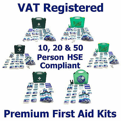 Qualicare Hse Compliant Premium Office Home Workplace Essential First Aid Kits