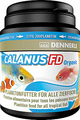 Dennerle Premium Fish Food: Calanus FD Plankton 200ml for All Fish