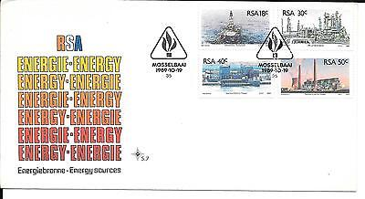 South Africa 1989 Energy Stamps on First Day Cover